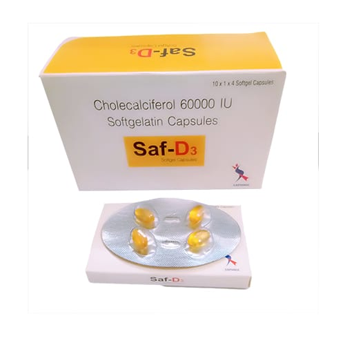 Saf-D3 SoftGel Capsules