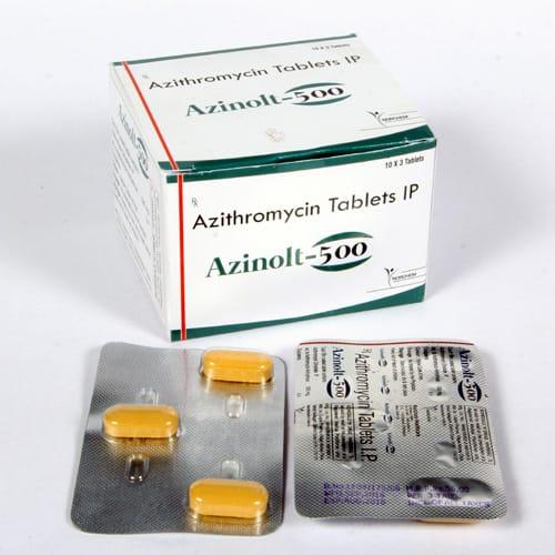 Azinolt-500 Tablets