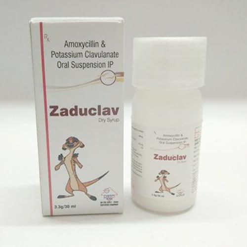 ZADUCLAV  Dry Syrup