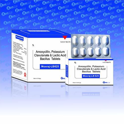 MOXRAJ-LB 625 Tablets