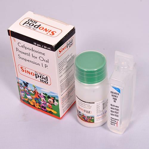 SINOPOD-100 Dry Syrup