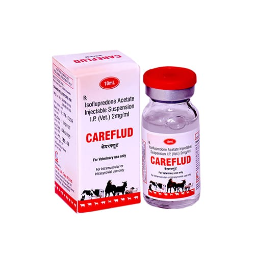 ISOFLUPREDONE ACETATE SUPENSION -10ml Liq. Injection(Vet.)