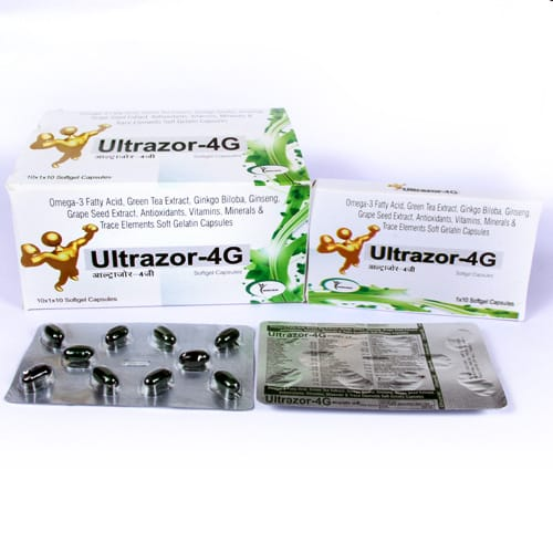 Ultrazor-4G Softgel Capsules