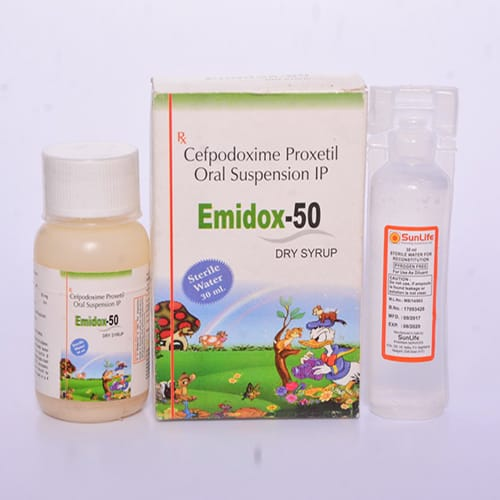 EMIDOX-50 Dry Syrup