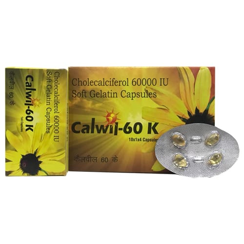 CALWIL- 60K SoftGel Capsules
