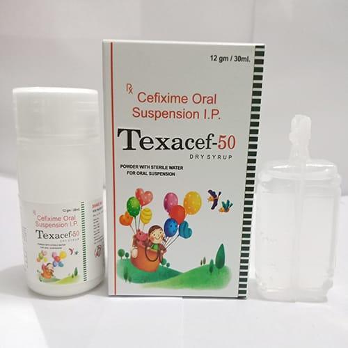 TEXACEF-50 Dry Syrup