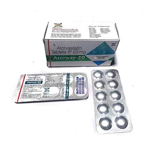 Atorway-20 Tablets