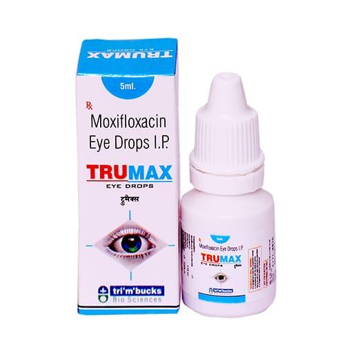 MOXIFLOXACIN (EYE DROPS)-0.5%