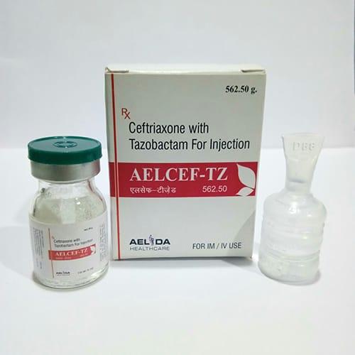 ALCEF-TZ-562.50 Injections