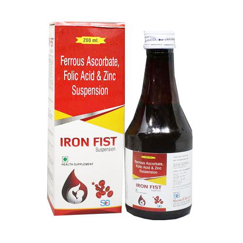 IRON-FIST Syrups