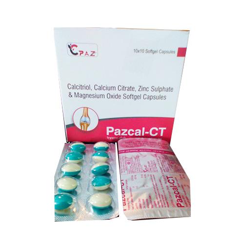 PAZCAL-CT Softgel Capsules