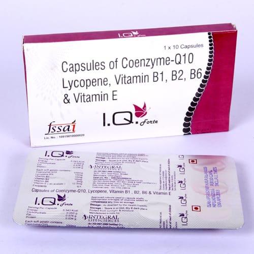 I.Q. FORTE SoftGel Capsules
