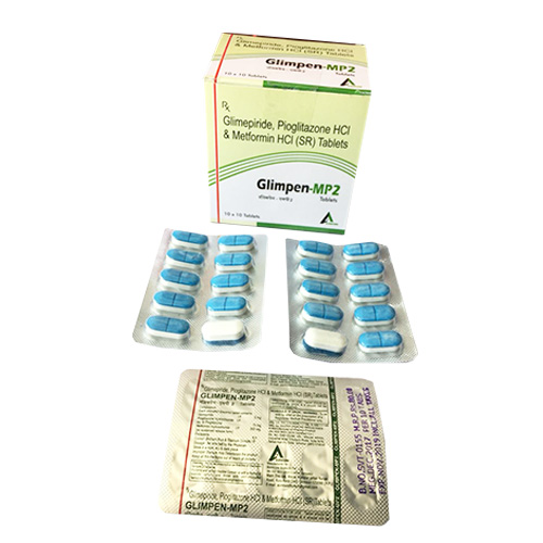 GLIMPEN-MP 2 Tablets