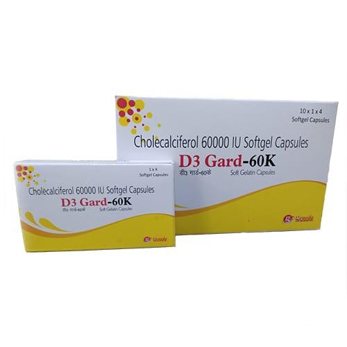 D3-Gard-60K  Softgel Capsules
