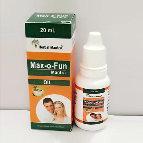 Max-O-Fun Mantra Oil